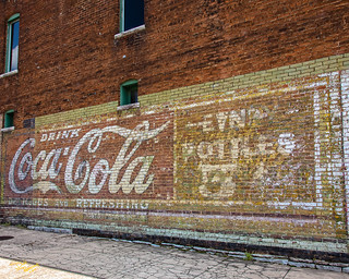 Coca-Cola Wall Advertisment