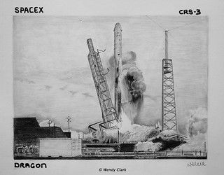 SpaceX CRS-3 Dragon