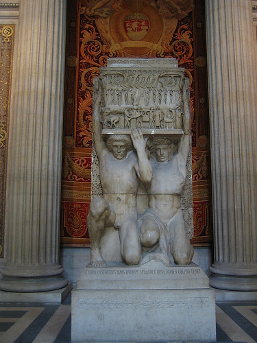 IMG__7767 - A Sculpture inside Panthéon, Paris