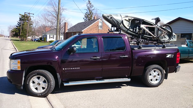 Truck Bed Kayak Rack >> Kayak & Bicycle on Thule Rack on DiamondBack Truck Cover o… | Flickr - Photo Sharing!