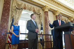 Secretary Kerry Delivers Remarks at Assistant Secretary Smith's Swearing-in Ceremony
