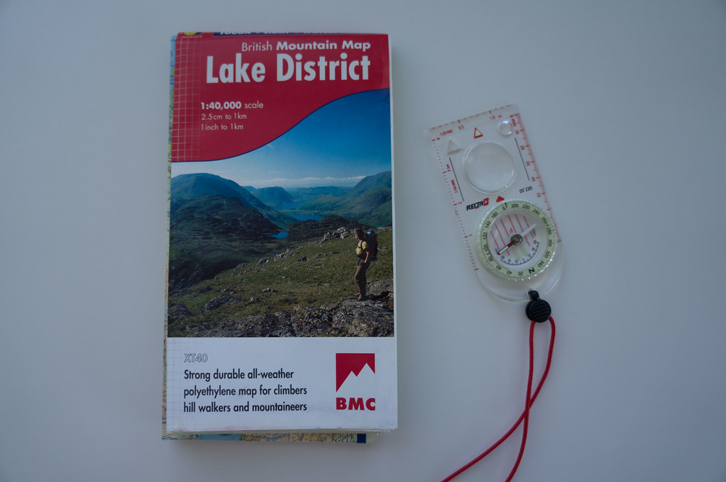 BMC Lake District Map
