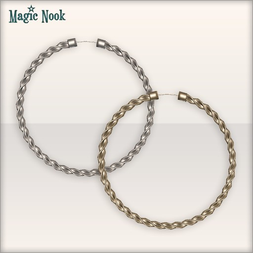 [MAGIC NOOK] Lasso Hoops - Close Up