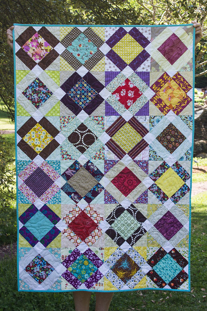 Grace Circle February Quilt Finished Front