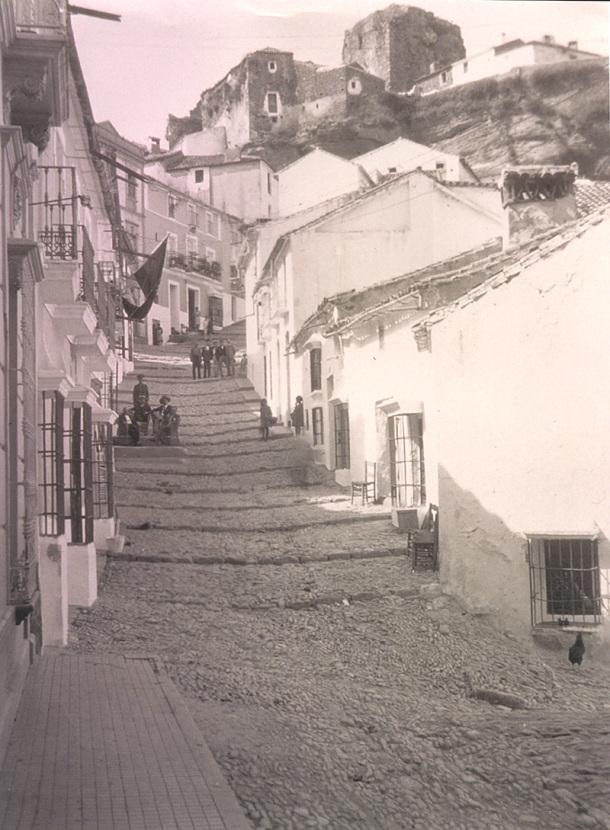 Imagen del pecho de la Plaza en la década de los años'20.