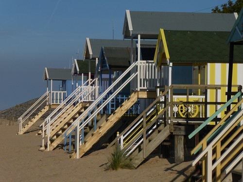 37 Beach huts, Wells