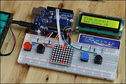 Arduino 實驗平台範例