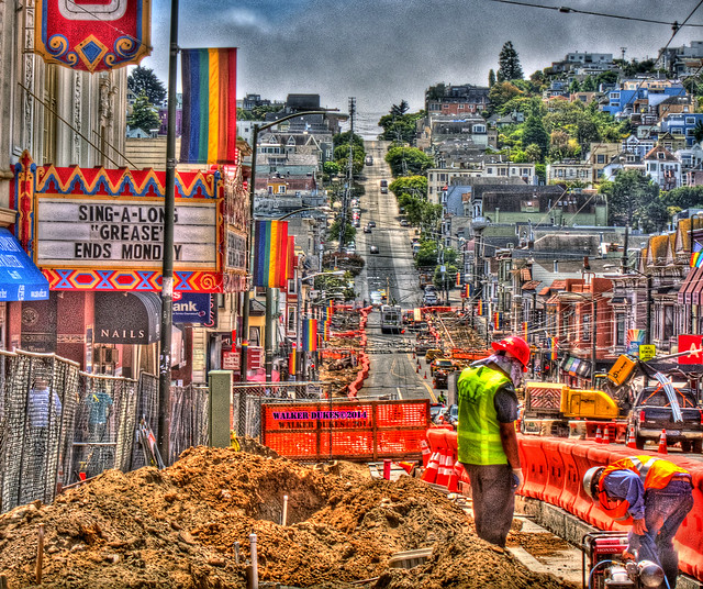 Castro Street Sidewalk Widening Project Update, HDR