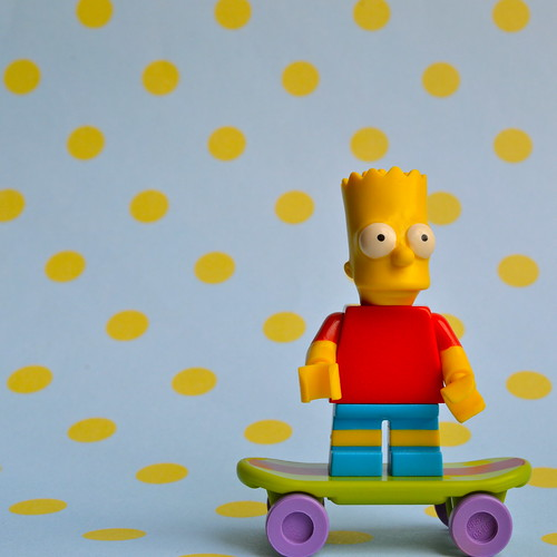 The Simpsons Minifigures: Bart