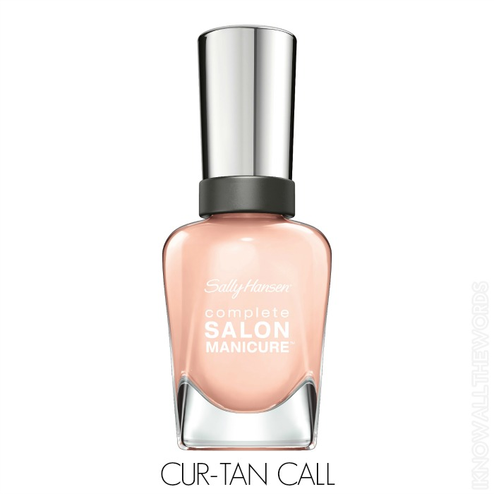 Sally Hansen Complete Salon Manicure Pastels on Point - Cur-Tan Call