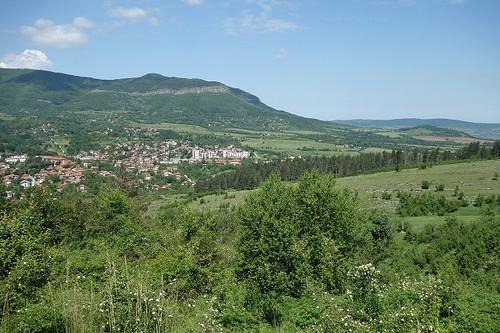 峠からの景色