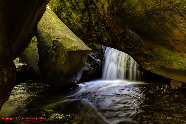 Honey Creek - Boulder House Falls - May 3, 2014
