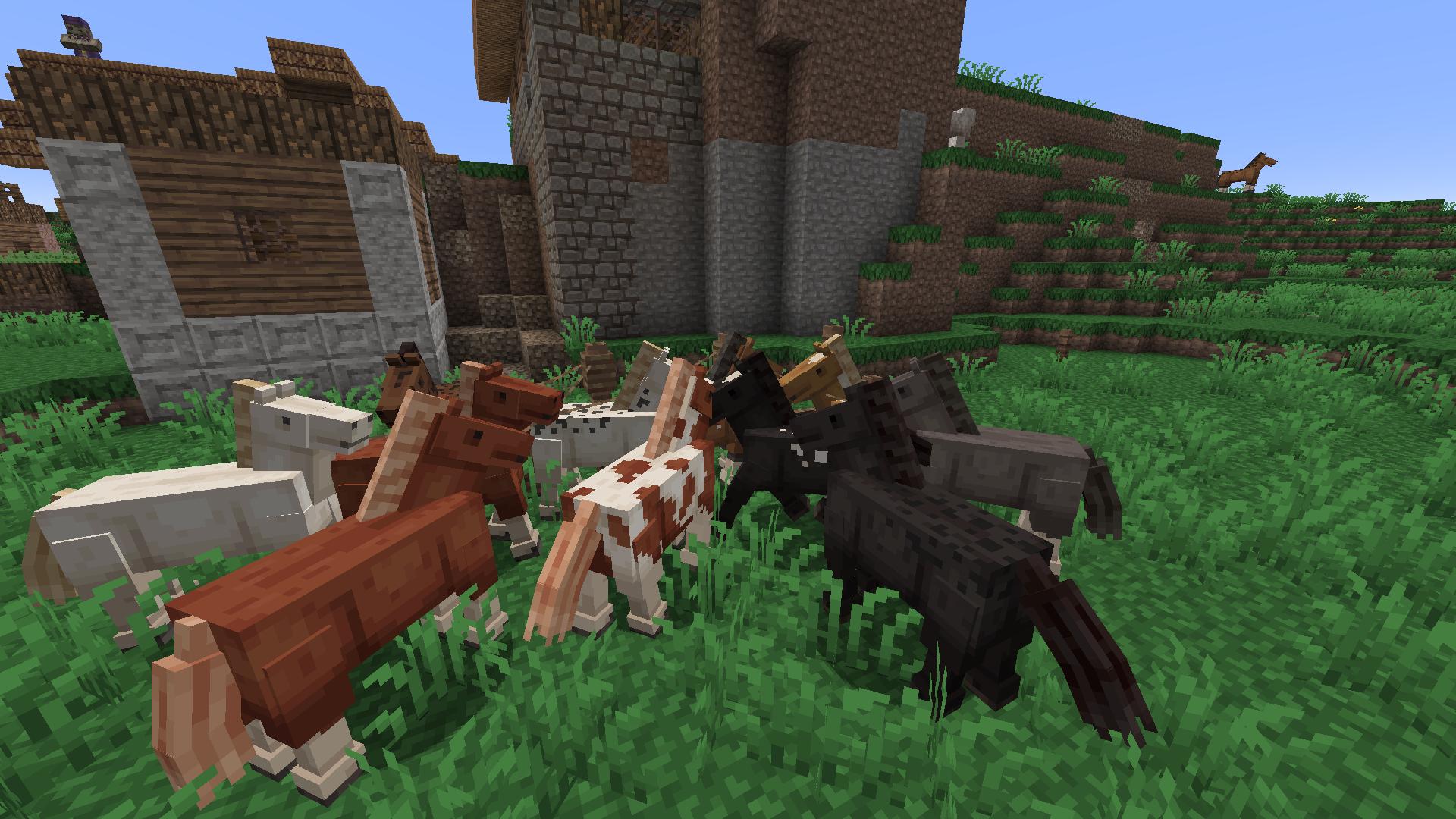моды для майнкрафт с лошадьми 1.11.2 #1