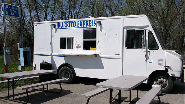 Burrito Express Truck in Des Moines, Iowa
