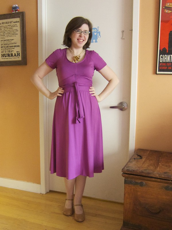 Me Made May 6: A new dress from a vintage 1970s pattern