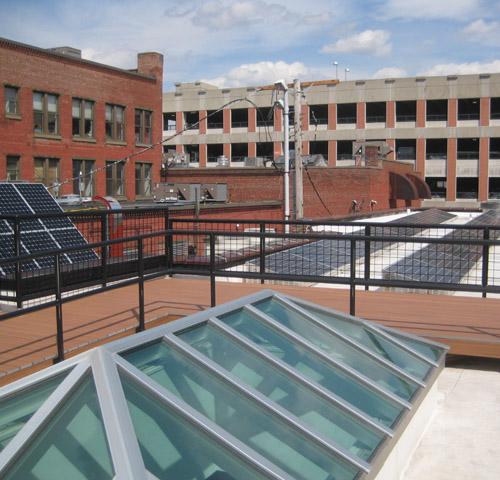 rooftop, Energy Innovation Center (courtesy of NBF Architects)