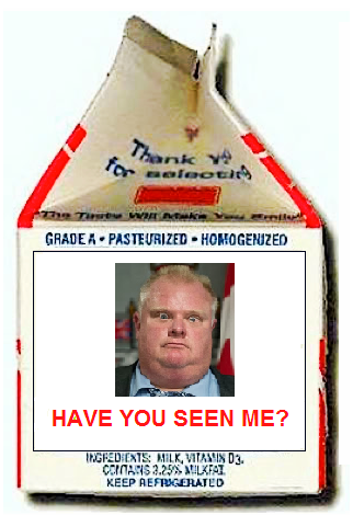 Where In the World Is Rob Ford?