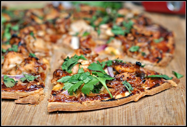 BBQ Chicken Pizza 4