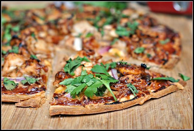 BBQ Chicken Pizza 4