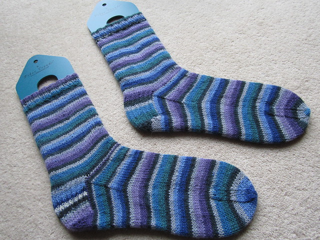 plain vanilla socks for Diane (1)