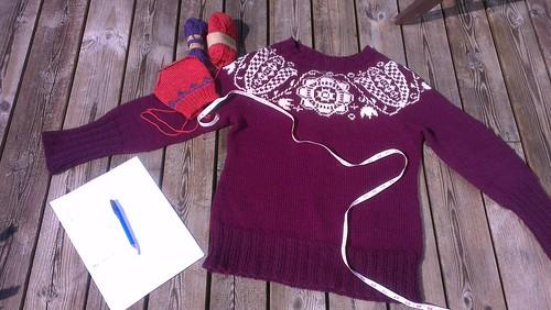 Planlegger ny genser