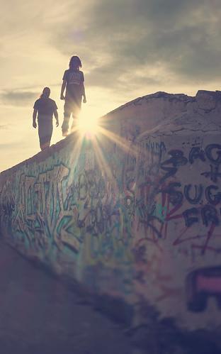 walking walls...