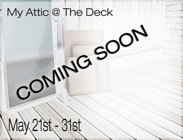 My Attic - May - Coming Soon