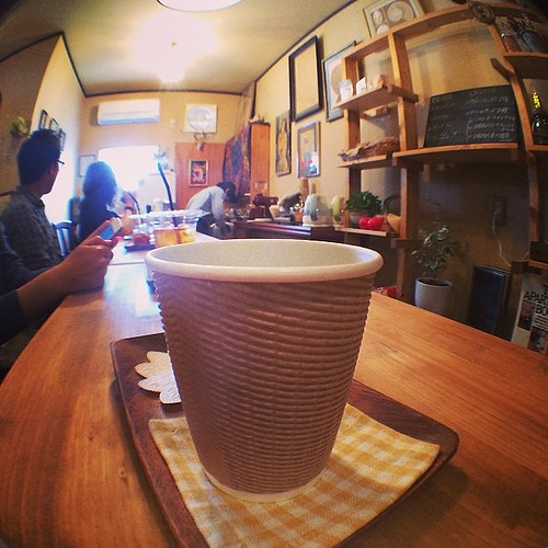 珈琲 #coffee.☕️ #fisheye #olloclip