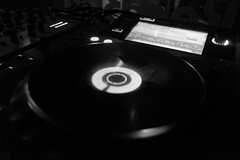 data storage device, monochrome photography, electronics, compact disc, monochrome, black-and-white, black, gramophone record,