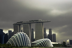 Stormy Day in Singapore