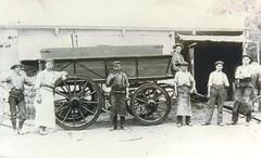 Marsh Wagon Works rear Exchange Hotel