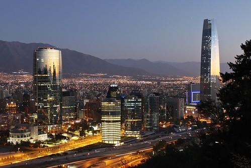 chile santiago summer tower night canon de landscape eos noche view paisaje verano vista nocturna titanium torres t1i