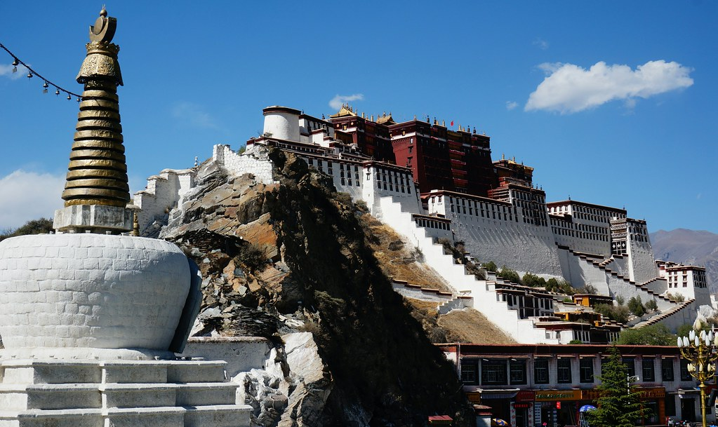 Potala Palace taken from Stupa
