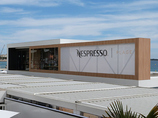 nespresso plage