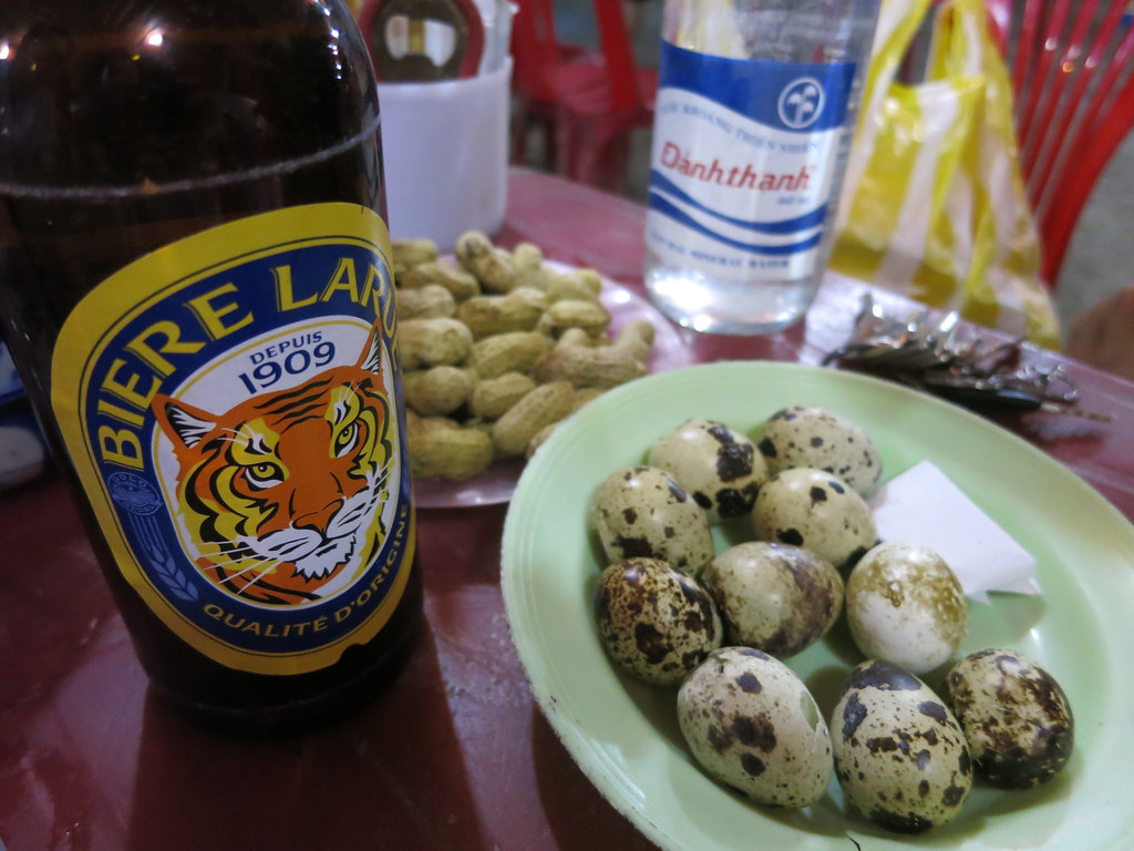 Beer boiled peanuts quail eggs