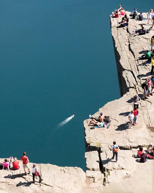 The Pulpit rock, Stavanger, Norway