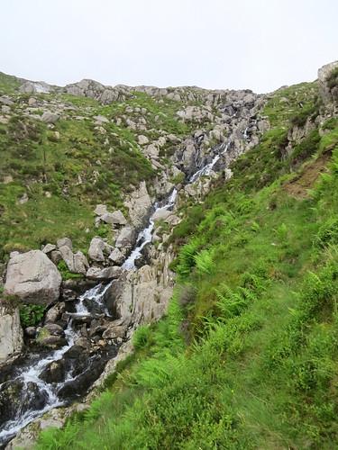 98 Nant Bochlwyd waterfalls
