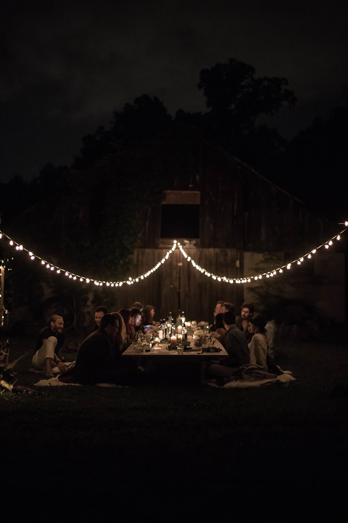 kinfolk l'esprit de la mer dinner / Nashville, TN