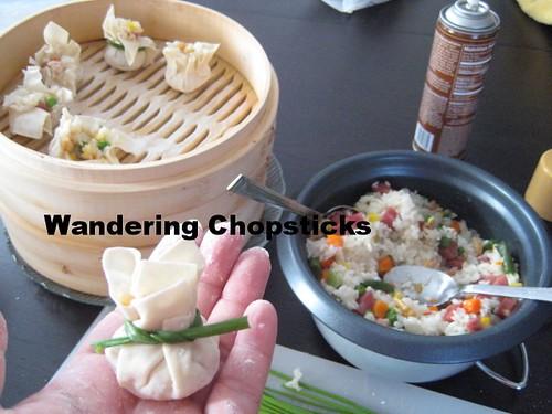 Shanghai-style Sticky Rice Siu Mai 6