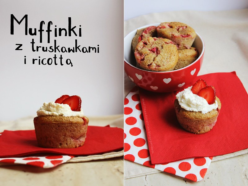 Ricotta Muffins With Strawberries
