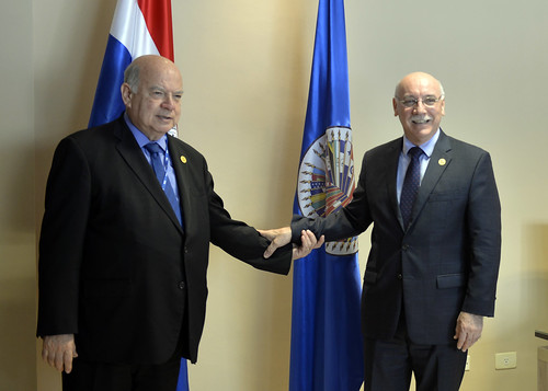 OAS Secretary General Meets with Paraguayan Foreign Minister