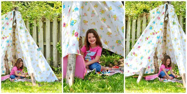 Summer Fun {Build a Fort}