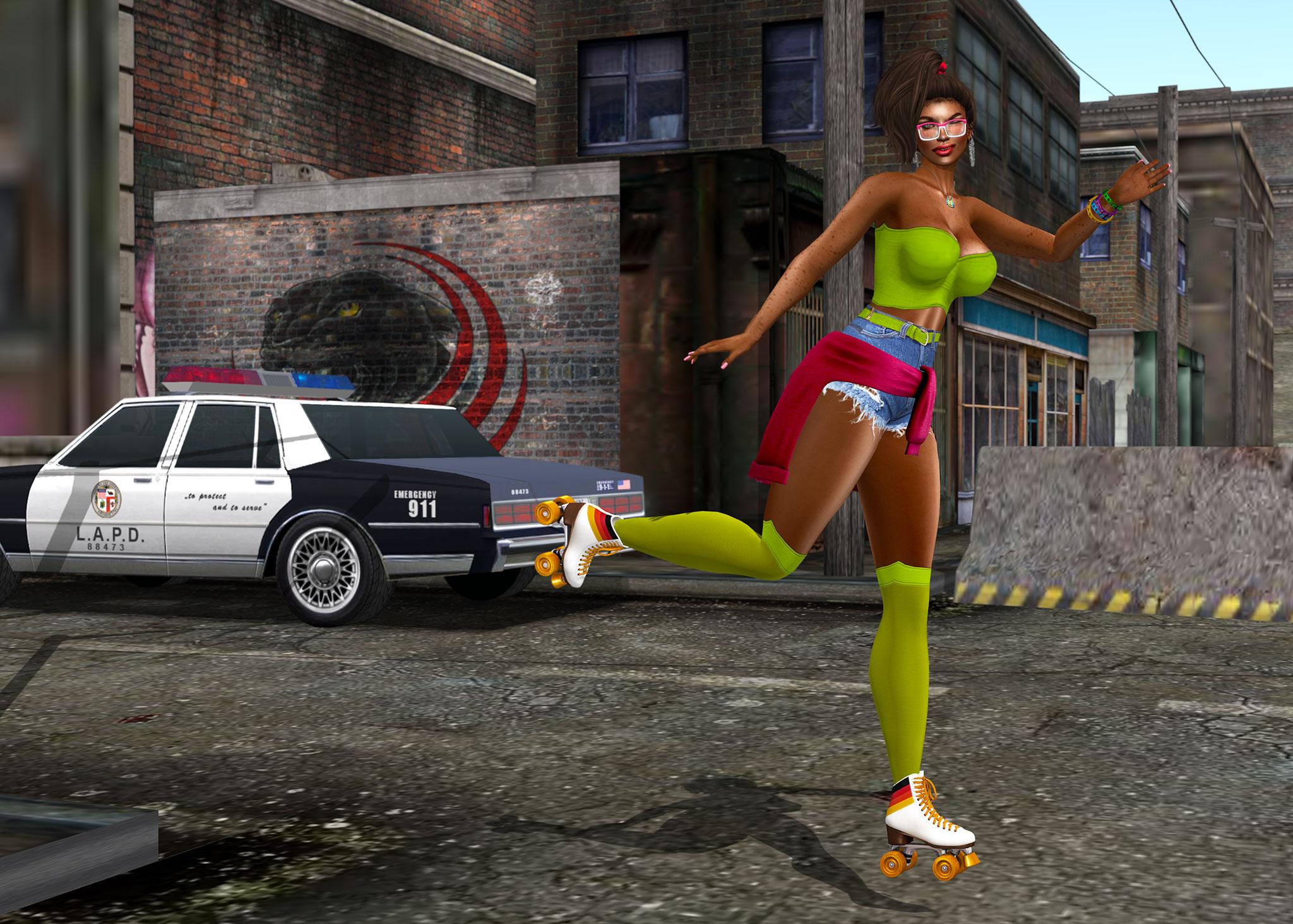 Brincando na rua