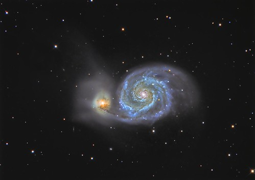 M51 Whirlpool Galaxy - 29/30 May 14