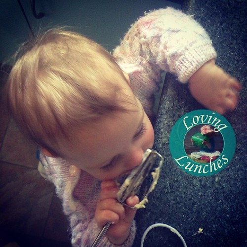 Loving help in the kitchen…