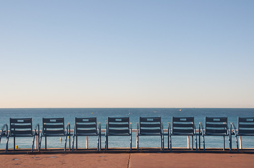chairs nice sea nikon nikkor1685 ocean france row explored explorepage homepage