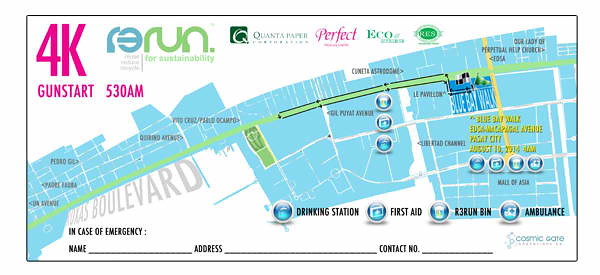 R3Run 4k race map