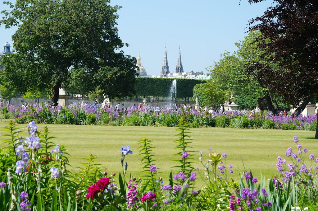 Au jardin des Tuileries