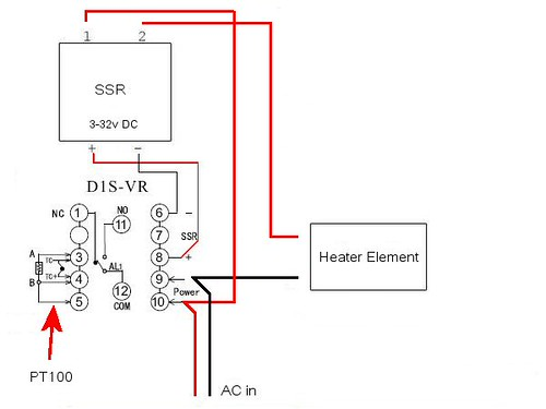 240 Volts Wiring Diagram Ssr Pid 220 Single Phase Wiring Diagram ...