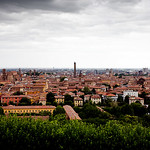 Bologna from Saint Michele in Bosco